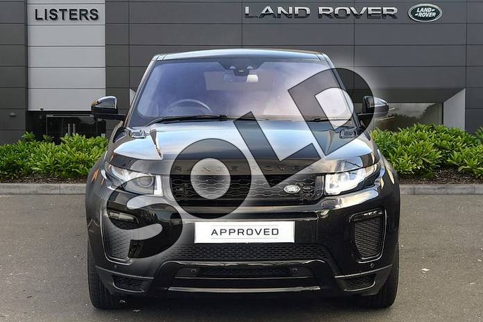 Image seven of this 2018 Range Rover Evoque Diesel Hatchback Diesel 2.0 TD4 HSE Dynamic 5dr Auto in Santorini Black at Listers Land Rover Droitwich