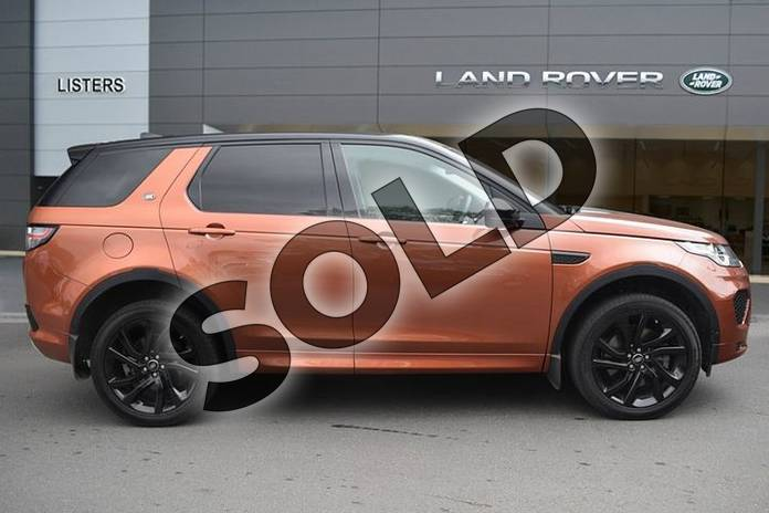Image five of this 2018 Land Rover Discovery Sport SW 2.0 Si4 290 HSE Dynamic Luxury 5dr Auto in Namib Orange at Listers Land Rover Droitwich