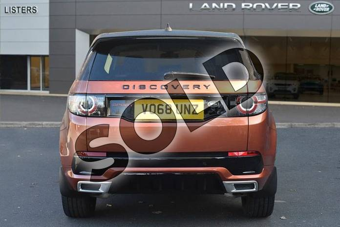 Image six of this 2018 Land Rover Discovery Sport SW 2.0 Si4 290 HSE Dynamic Luxury 5dr Auto in Namib Orange at Listers Land Rover Droitwich