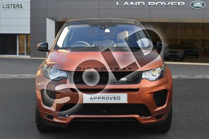Image seven of this 2018 Land Rover Discovery Sport SW 2.0 Si4 290 HSE Dynamic Luxury 5dr Auto in Namib Orange at Listers Land Rover Droitwich