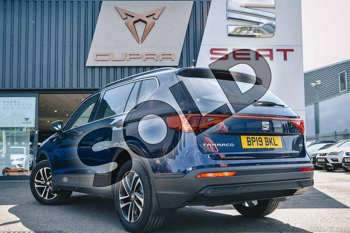 Image three of this 2019 SEAT Tarraco Diesel Estate Diesel 2.0 TDI SE Technology 5dr DSG 4Drive in Blue at Listers SEAT Coventry