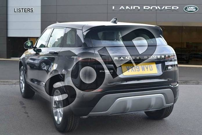 Image two of this 2019 Range Rover Evoque Diesel Hatchback Diesel 2.0 D180 S 5dr Auto in Narvik Black at Listers Land Rover Hereford