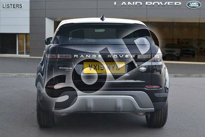 Image six of this 2019 Range Rover Evoque Diesel Hatchback Diesel 2.0 D180 S 5dr Auto in Narvik Black at Listers Land Rover Hereford