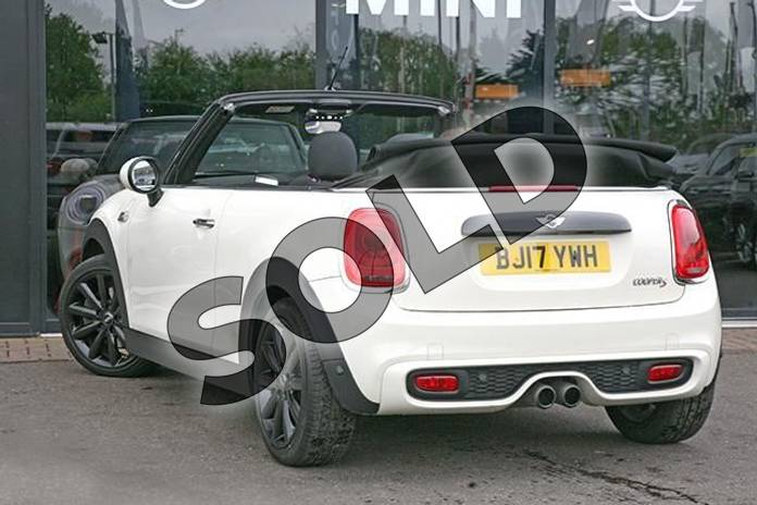 Image two of this 2017 MINI Convertible 2.0 Cooper S 2dr Auto in Pepper White at Listers Boston (MINI)