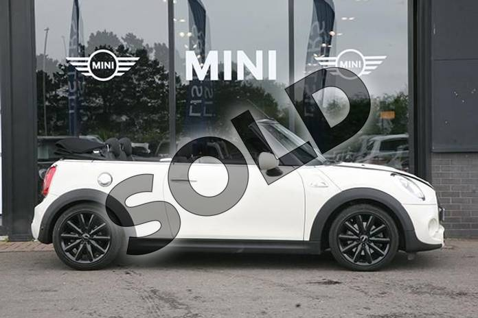 Image three of this 2017 MINI Convertible 2.0 Cooper S 2dr Auto in Pepper White at Listers Boston (MINI)