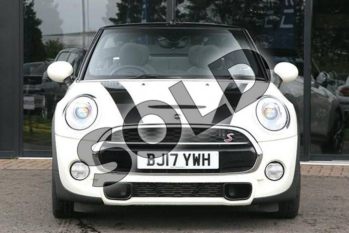 Image four of this 2017 MINI Convertible 2.0 Cooper S 2dr Auto in Pepper White at Listers Boston (MINI)