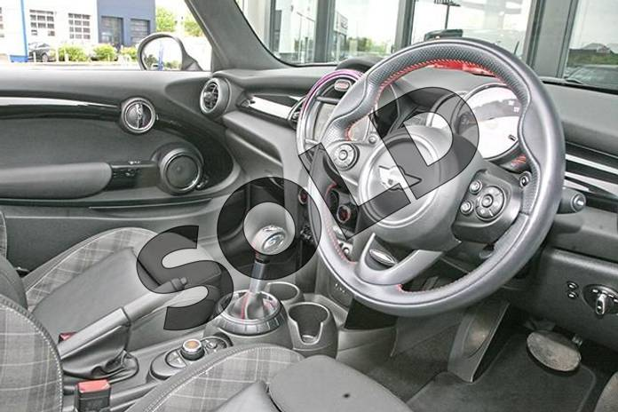 Image six of this 2017 MINI Convertible 2.0 Cooper S 2dr Auto in Pepper White at Listers Boston (MINI)