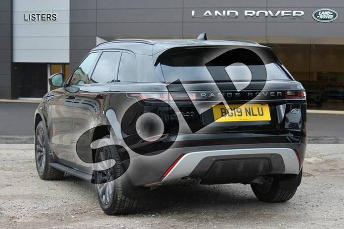 Image two of this 2019 Range Rover Velar Diesel Estate Diesel 2.0 D180 R-Dynamic S 5dr Auto in Narvik Black at Listers Land Rover Solihull