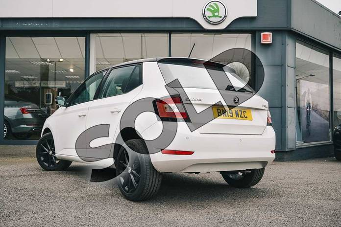 Image three of this 2019 Skoda Fabia Hatchback Special Editions Special Editions 1.0 TSI Colour Edition 5dr in Candy White at Listers ŠKODA Coventry