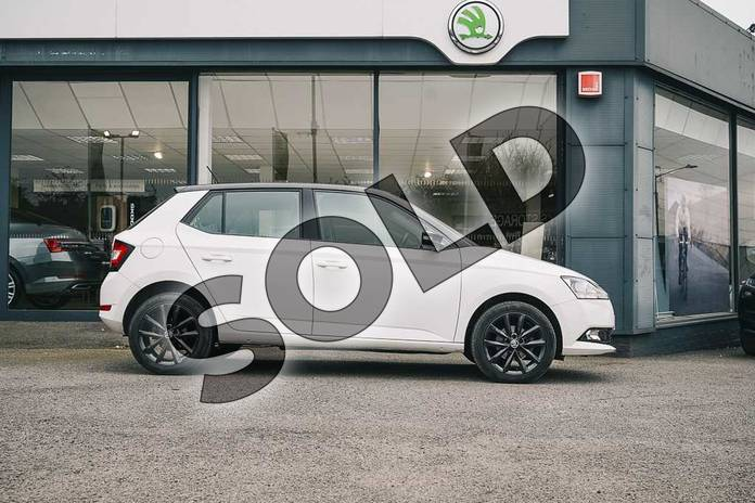 Image four of this 2019 Skoda Fabia Hatchback Special Editions Special Editions 1.0 TSI Colour Edition 5dr in Candy White at Listers ŠKODA Coventry