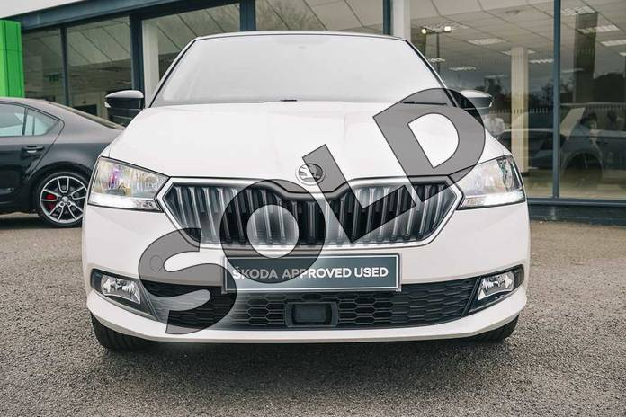 Image seven of this 2019 Skoda Fabia Hatchback Special Editions Special Editions 1.0 TSI Colour Edition 5dr in Candy White at Listers ŠKODA Coventry