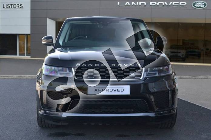 Image seven of this 2019 Range Rover Sport Diesel Estate Diesel 3.0 SDV6 HSE 5dr Auto in Santorini Black at Listers Land Rover Hereford