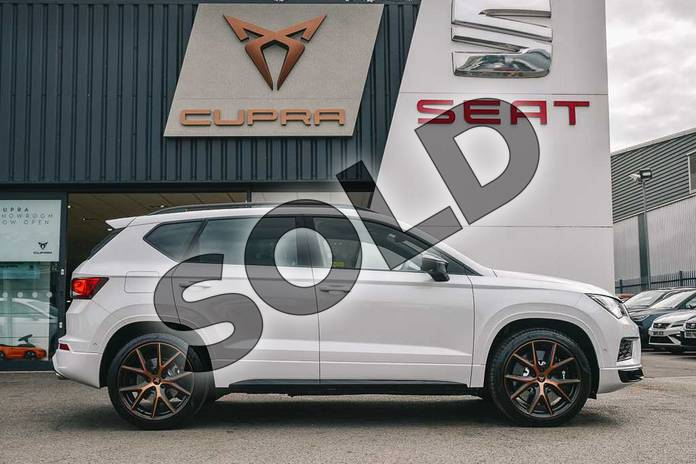 Image four of this 2019 CUPRA Ateca Estate 2.0 TSI 5dr DSG 4Drive (Design pack) in White at Listers SEAT Coventry