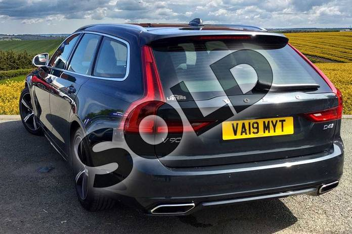 Image two of this 2019 Volvo V90 Diesel Estate Diesel 2.0 D4 R DESIGN 5dr Geartronic in 492 Savile Grey at Listers Volvo Worcester
