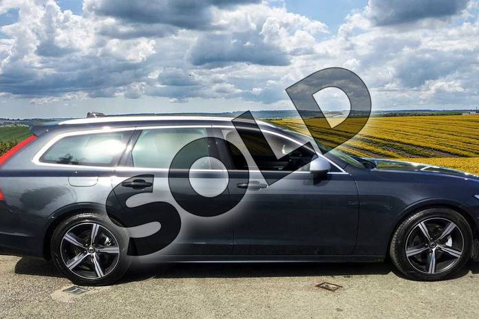Image four of this 2019 Volvo V90 Diesel Estate Diesel 2.0 D4 R DESIGN 5dr Geartronic in 492 Savile Grey at Listers Volvo Worcester