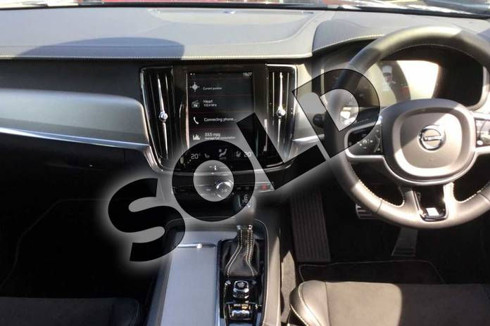 Image six of this 2019 Volvo V90 Diesel Estate Diesel 2.0 D4 R DESIGN 5dr Geartronic in 492 Savile Grey at Listers Volvo Worcester