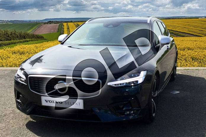 Image nine of this 2019 Volvo V90 Diesel Estate Diesel 2.0 D4 R DESIGN 5dr Geartronic in 492 Savile Grey at Listers Volvo Worcester