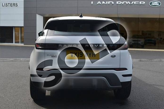 Image six of this 2019 Range Rover Evoque Diesel Hatchback Diesel 2.0 D180 S 5dr Auto in Fuji White at Listers Land Rover Hereford