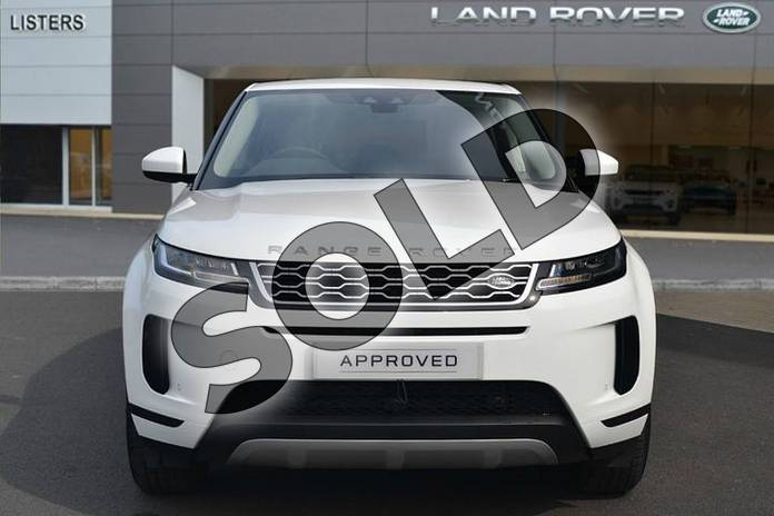 Image seven of this 2019 Range Rover Evoque Diesel Hatchback Diesel 2.0 D180 S 5dr Auto in Fuji White at Listers Land Rover Hereford