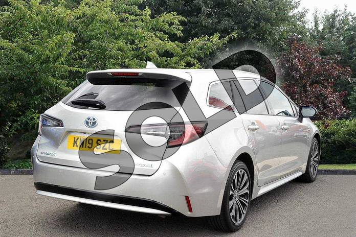 Image two of this 2019 Toyota Corolla Touring Sport Touring Sport 1.8 VVT-i Hybrid Excel 5dr CVT in Silver at Listers Toyota Nuneaton