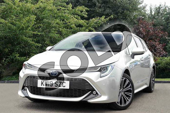Image three of this 2019 Toyota Corolla Touring Sport Touring Sport 1.8 VVT-i Hybrid Excel 5dr CVT in Silver at Listers Toyota Nuneaton