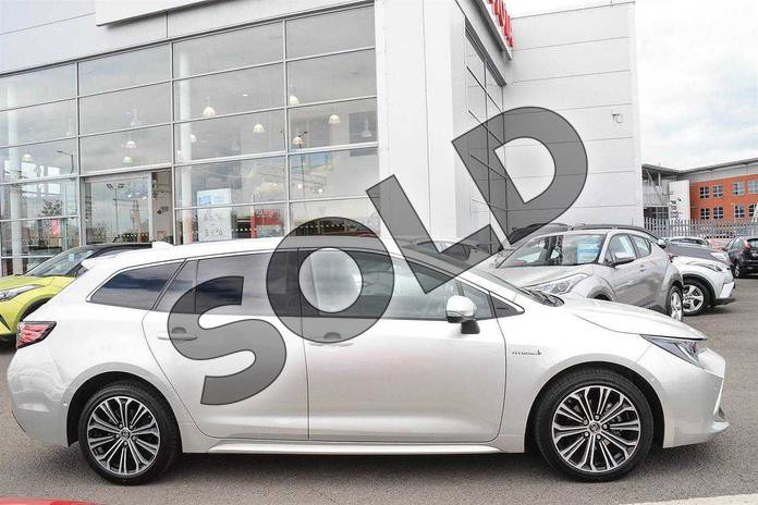 Image twelve of this 2019 Toyota Corolla Touring Sport Touring Sport 1.8 VVT-i Hybrid Excel 5dr CVT in Silver at Listers Toyota Nuneaton