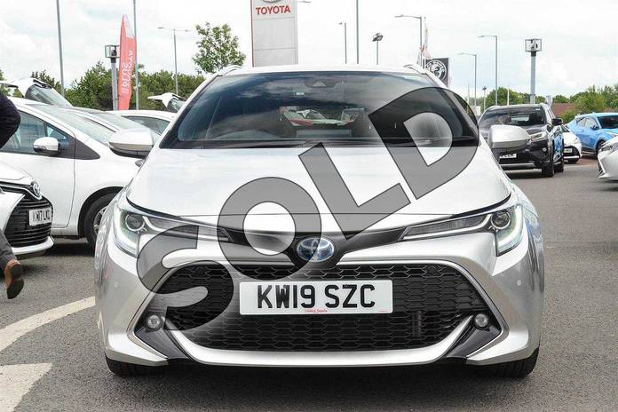 Image fifteen of this 2019 Toyota Corolla Touring Sport Touring Sport 1.8 VVT-i Hybrid Excel 5dr CVT in Silver at Listers Toyota Nuneaton
