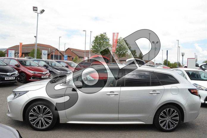 Image seventeen of this 2019 Toyota Corolla Touring Sport Touring Sport 1.8 VVT-i Hybrid Excel 5dr CVT in Silver at Listers Toyota Nuneaton