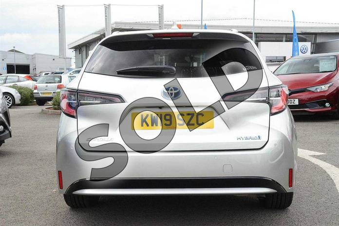 Image nineteen of this 2019 Toyota Corolla Touring Sport Touring Sport 1.8 VVT-i Hybrid Excel 5dr CVT in Silver at Listers Toyota Nuneaton
