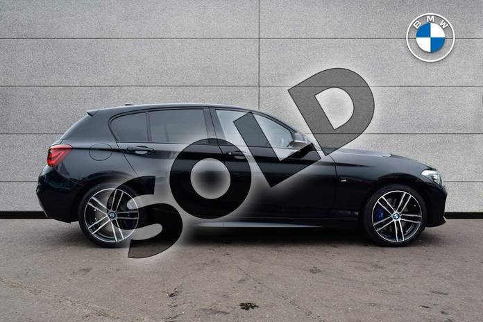 Image three of this 2019 BMW 1 Series Hatchback Special Edition Special Edition 120d M Sport Shadow Ed 5dr Step Auto in Black Sapphire metallic paint at Listers Boston (BMW)