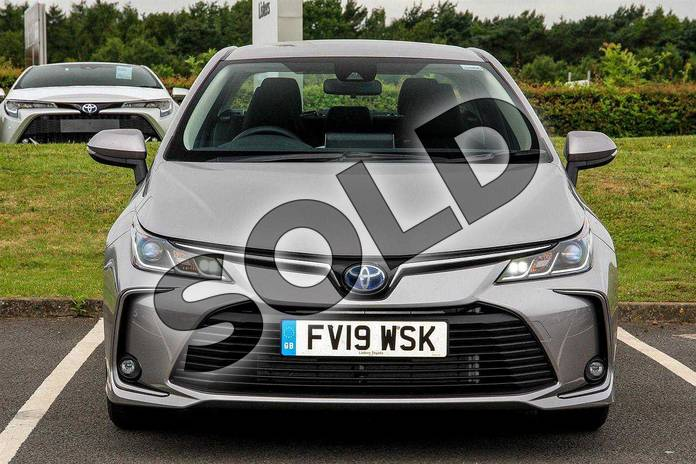 Image fifteen of this 2019 Toyota Corolla Saloon 1.8 VVT-i Hybrid Icon 4dr CVT in Silver at Listers Toyota Lincoln