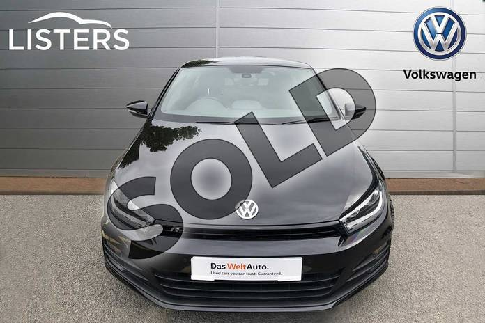 Image seven of this 2017 Volkswagen Scirocco Diesel Coupe Diesel 2.0 TDI BlueMotion Tech R Line 3dr in Deep black at Listers Volkswagen Coventry