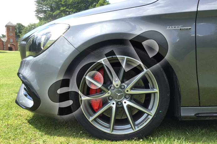 Image five of this 2019 Mercedes-Benz CLA Class AMG Shooting Brake CLA 45 Night Edition 4Matic 5dr Tip Auto in mountain grey metallic at Mercedes-Benz of Grimsby