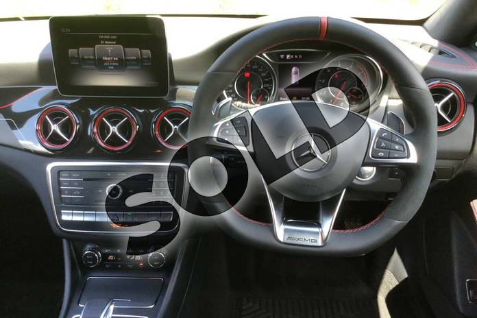 Image seven of this 2019 Mercedes-Benz CLA Class AMG Shooting Brake CLA 45 Night Edition 4Matic 5dr Tip Auto in mountain grey metallic at Mercedes-Benz of Grimsby