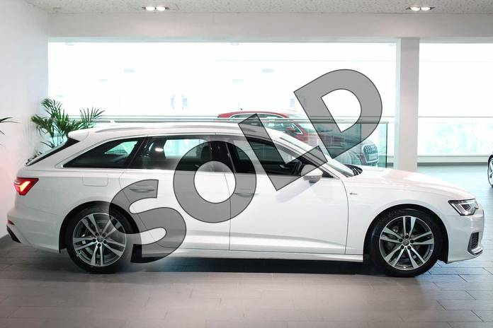 Image four of this 2019 Audi A6 Diesel Avant Diesel 40 TDI S Line 5dr S Tronic in Glacier White Metallic at Coventry Audi
