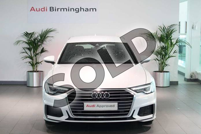 Image seven of this 2019 Audi A6 Diesel Avant Diesel 40 TDI S Line 5dr S Tronic in Glacier White Metallic at Coventry Audi