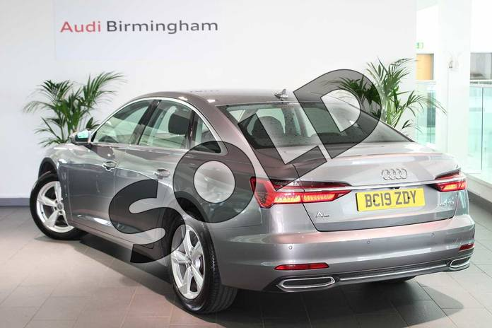 Image three of this 2019 Audi A6 Diesel Saloon 40 TDI Sport 4dr S Tronic in Typhoon Grey Metallic at Coventry Audi