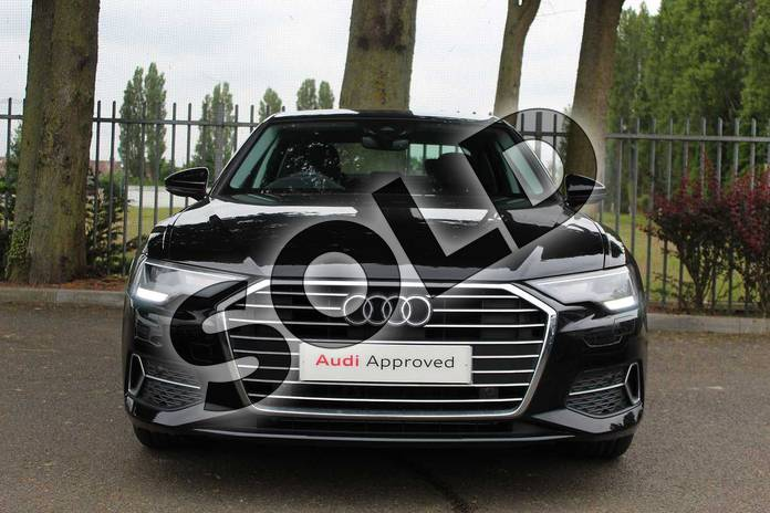 Image seven of this 2019 Audi A6 Diesel Saloon Diesel 40 TDI Sport 4dr S Tronic in Myth Black Metallic at Coventry Audi