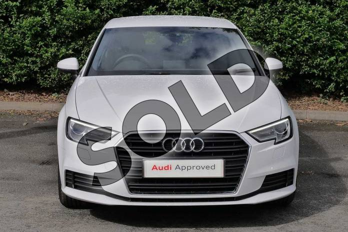 Image seven of this 2019 Audi A3 Diesel Sportback Diesel 30 TDI 116 SE Technik 5dr S Tronic in Ibis White at Worcester Audi