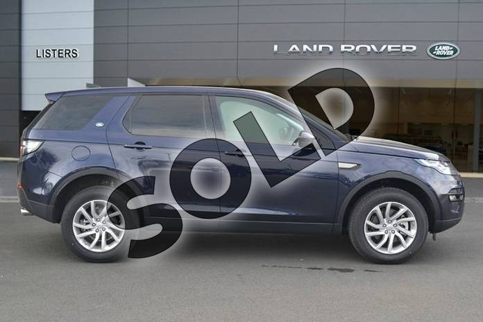 Image five of this 2019 Land Rover Discovery Sport Diesel SW 2.0 TD4 180 SE Tech 5dr Auto in Loire Blue at Listers Land Rover Hereford