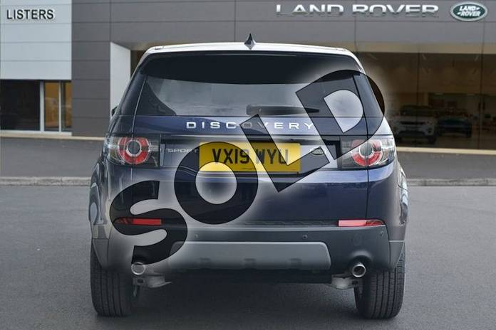 Image six of this 2019 Land Rover Discovery Sport Diesel SW 2.0 TD4 180 SE Tech 5dr Auto in Loire Blue at Listers Land Rover Hereford