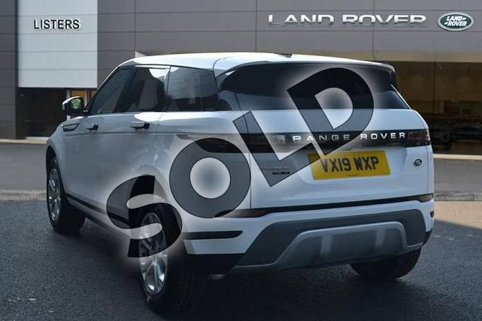 Image two of this 2019 Range Rover Evoque Diesel Hatchback 2.0 D180 S 5dr Auto in Fuji White at Listers Land Rover Hereford