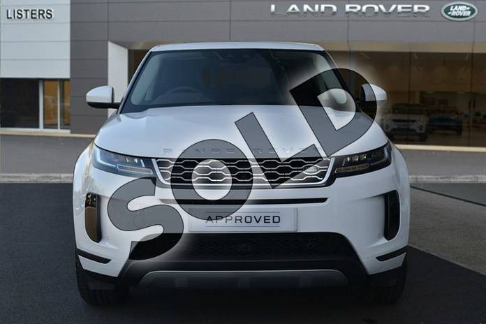 Image seven of this 2019 Range Rover Evoque Diesel Hatchback 2.0 D180 S 5dr Auto in Fuji White at Listers Land Rover Hereford