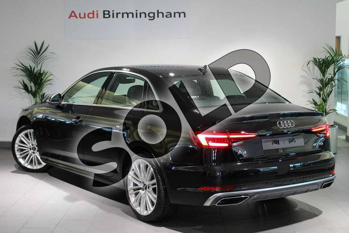Image three of this 2019 Audi A4 Diesel Saloon 40 TDI S Line 4dr S Tronic in Myth Black Metallic at Birmingham Audi