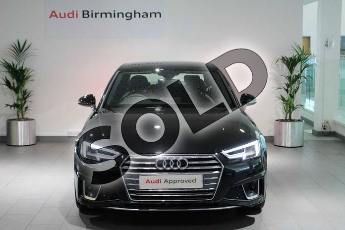 Image seven of this 2019 Audi A4 Diesel Saloon 40 TDI S Line 4dr S Tronic in Myth Black Metallic at Birmingham Audi