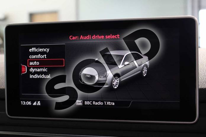 Image nine of this 2019 Audi A4 Diesel Saloon 40 TDI S Line 4dr S Tronic in Myth Black Metallic at Birmingham Audi