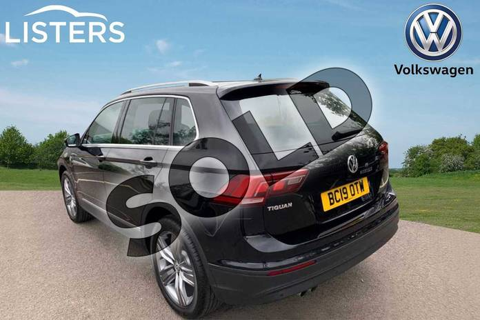 Image three of this 2019 Volkswagen Tiguan Estate 1.5 TSI EVO 150 Match 5dr DSG in Deep black at Listers Volkswagen Leamington Spa