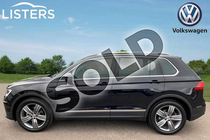 Image four of this 2019 Volkswagen Tiguan Estate 1.5 TSI EVO 150 Match 5dr DSG in Deep black at Listers Volkswagen Leamington Spa