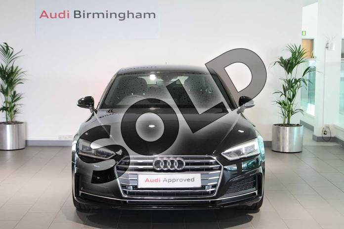 Image seven of this 2019 Audi A5 Diesel Sportback 35 TDI S Line 5dr S Tronic in Myth Black Metallic at Birmingham Audi