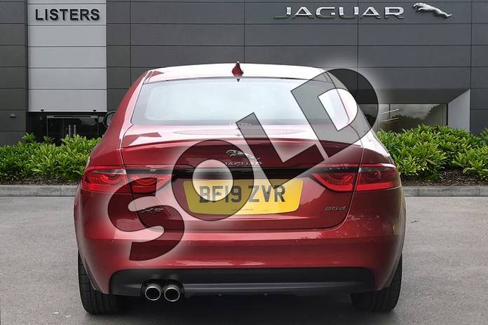 Image six of this 2019 Jaguar XF Diesel Saloon Diesel 2.0d R-Sport 4dr Auto in Firenze Red at Listers Jaguar Droitwich